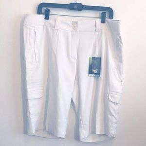 Nike Modern Rise Golf Shorts White